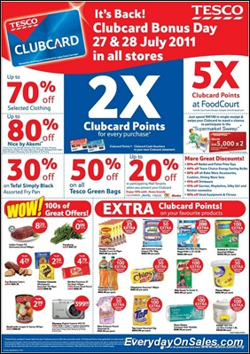 tesco-clubcard-day-2011-EverydayOnSales-Warehouse-Sale-Promotion-Deal-Discount
