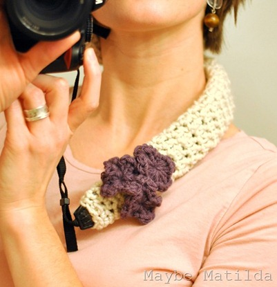Crochet Camera Strap Cover