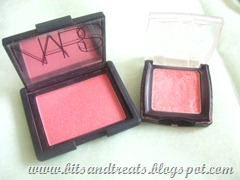 nars super orgasm and etude house dear darling blushblush