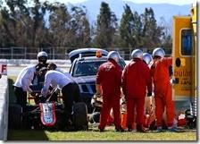 La McLaren di Fernando Alonso