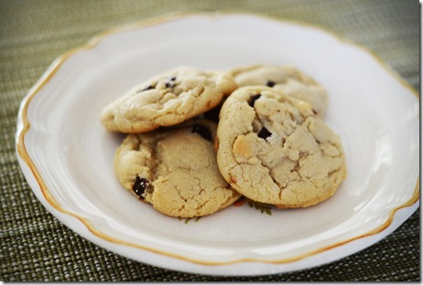 chocolate chip cookie dough recipe