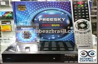 FREESKY FREEDUO PLUS NOVA ATUALIZAÇÃO - V1.97