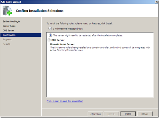 DNS INSTALLATION AND CONFIGURATION (5)