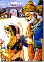 King Janaka and daughter Sita