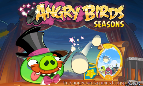 Free Download Angry Birds Seasons v3.3.0 Android Game