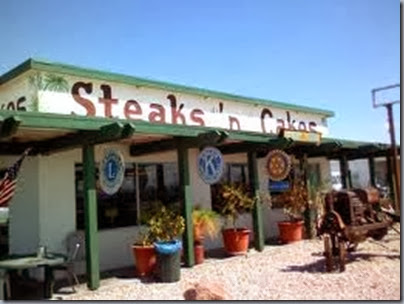steaks and cakes