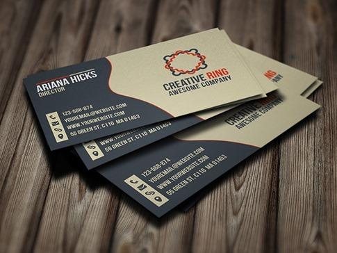 Pack de tarjetas de presentación en PSD