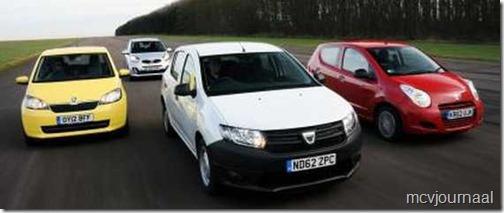 Dacia Sandero tegen de concurrentie 09