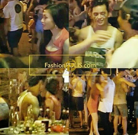 James Red flirting in Sinulog 2015