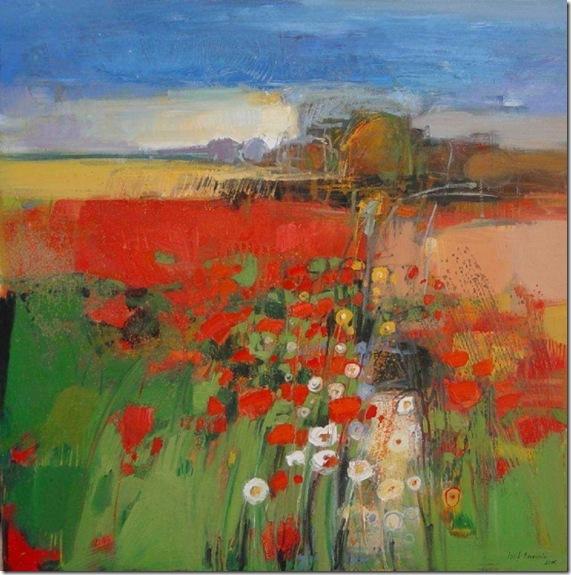 Poppy field-Iosif Derecichei-Enkaustikos