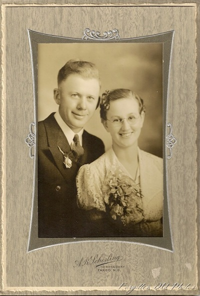 AR Sherling 1925 to 1929 wedding photo Dorset Antiques