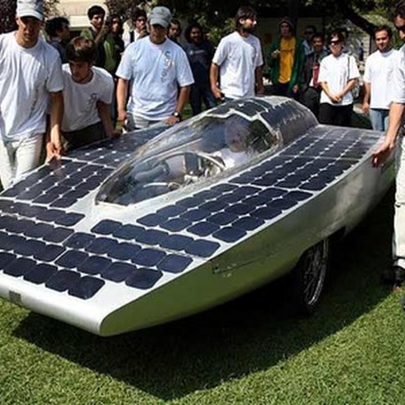 Carrera de autos solares Atacama Solar Challenge 2011