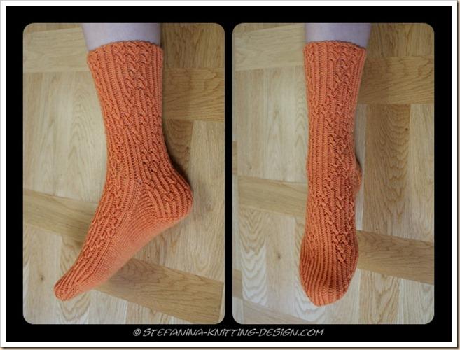 Orangeraie Socks