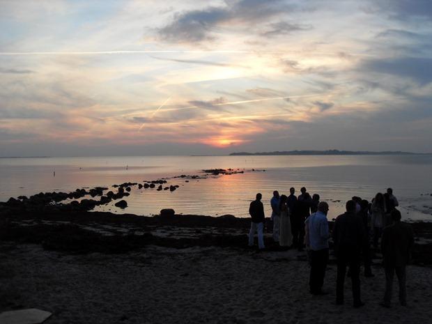 Solnedgang over Nekselø