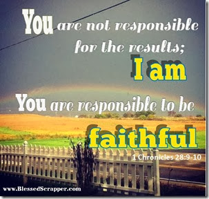 You are not responsible