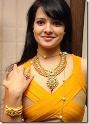 Telugu Actress Saloni Aswani at Hiya Jewellery Event Photos