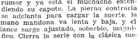 La pierna contraria se adelanta (Cronica Imparcial 17-05-1931)