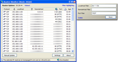 Router Monitor Desktop Software