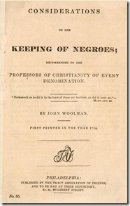 Cover - Some Considerations on the Keeping of Negroes