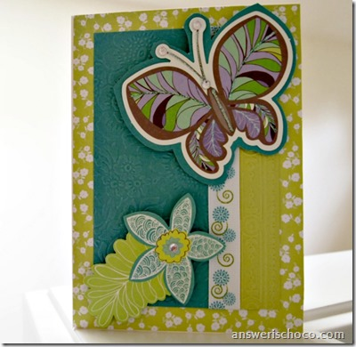 Butterfly Diecut Card
