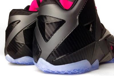 nike lebron 11 gr carbon fiber pink 3 06 New Photos // Nike LeBron XI