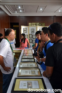 Talking with Rizal stamp collector Rene Adapon at the Manila Bulletin office (Ponciano cor. Rizal Streets)