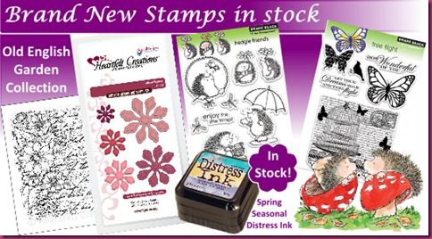 May - New Stamps