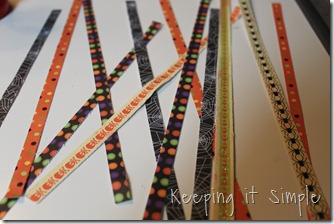 clothes pin Halloween wreath (2)