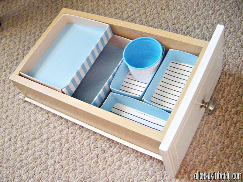 Create Your Own Drawer Dividers | allonsykimberly.com