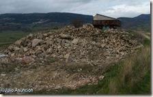 Piedras en la zona llamada del castillo - Muez