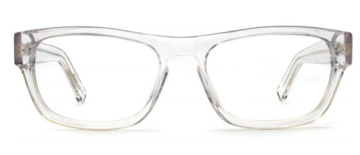 Warby Parker's Roosevelt frame ($95) are a bold and modern look.