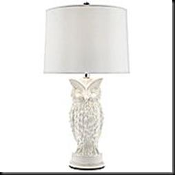 jcp - ceramic owl lamp