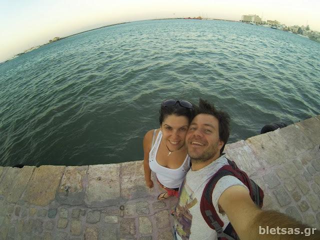 Με Ηλέκτρα στο λιμάνι της Χίου. Περάσαμε τέλεια! Σίγουρα θα ξανάρθουμε! Αγαπάμε Χίο!