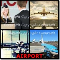 AIRPORT- 4 Pics 1 Word Answers 3 Letters