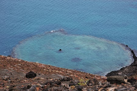 Imagini Galapagos: crater subacvatic bartholomeo