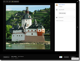Google+ view