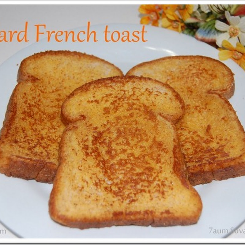 Custard French toast