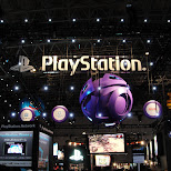 playstation at the tokyo game show 2009 in japan in Tokyo, Tokyo, Japan