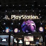 playstation at the tokyo game show 2009 in japan in Tokyo, Tokyo, Japan