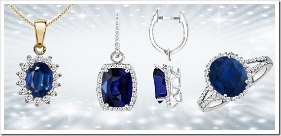 Blue Gemstone Jewelry