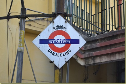 TT Darjeeling Station Sign