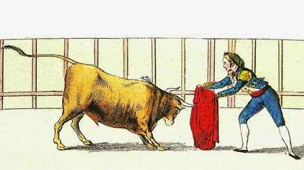 Lam XIII. Cuarta suerte con los toros temerosos 002