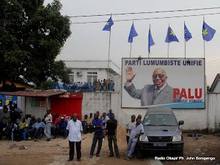 Siège du Palu à Kinshasa. Radio Okapi/ Ph. John Bompengo