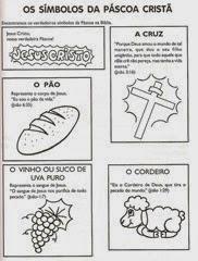 simbolos da pascoa escola