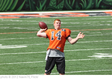 'QB Andy Dalton' photo (c) 2012, Navin75 - license: http://creativecommons.org/licenses/by-sa/2.0/