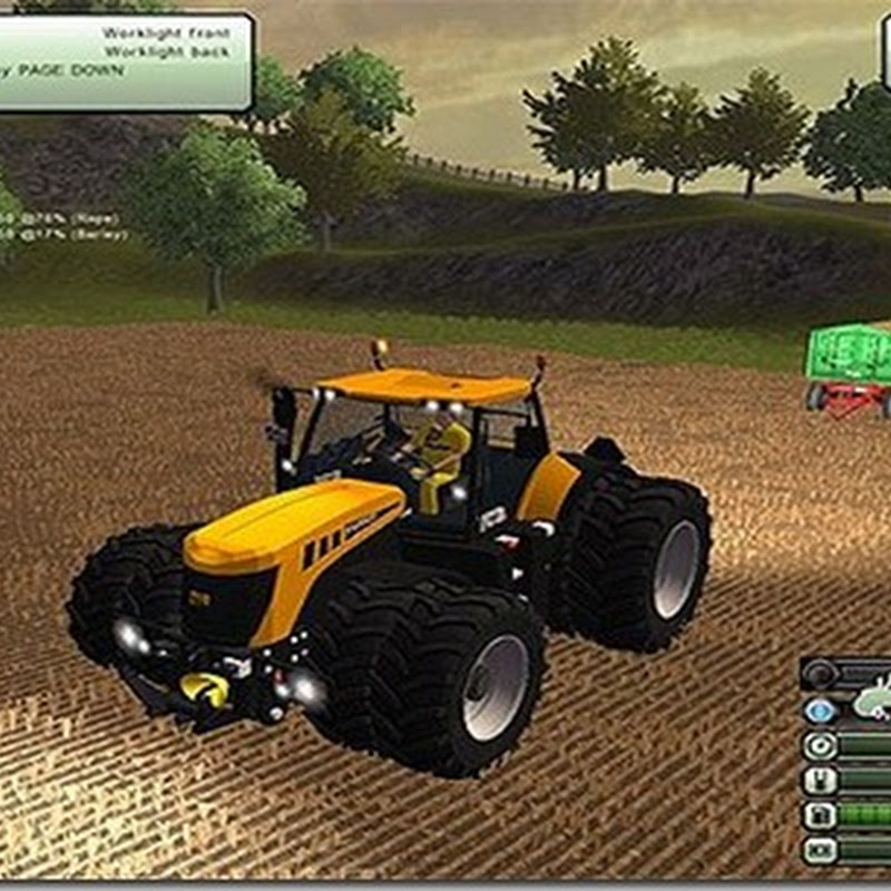 Farming simulator 2013 - JCB Fastrac 8310