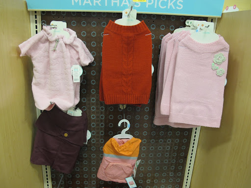 And at PetSmart, there are fashions galore!  We'll blog about our new spring line soon.  Keep checking in!