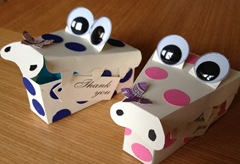 finished croc boxes