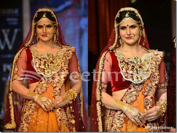 Zarine_Khan_Bridal_Half_Saree(2)