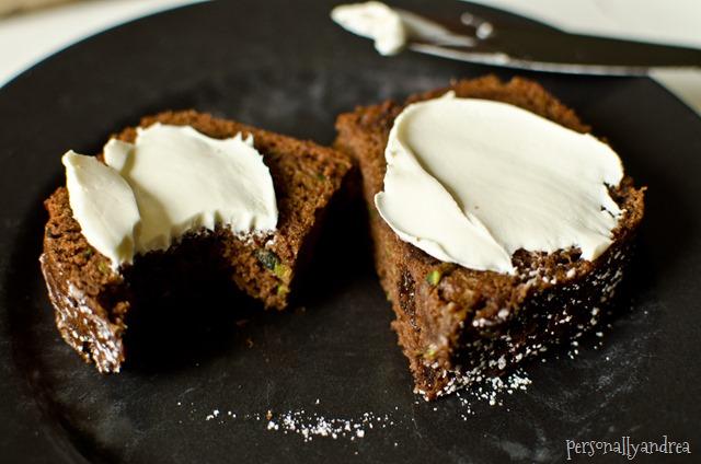 Chocolate Zucchini Loaf | personallyandrea.com